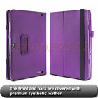 """Folio PU Leather Stand Cover Case For ASUS Transformer Book T100HA 10.1"""" Laptop"""