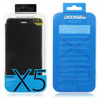 ORIGINAL 2in1 DOOGEE X5 / X5 Pro Flip Tasche Case Temperedglass Displayschutz