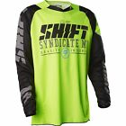 NEW MENS GUYS SHIFT MX ATV RACING RIDING YELLOW CAMO STRIKE JERSEY SHIRT OFFROAD