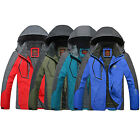 Men's Waterproof Hiking Ski Snow Warm Outdoor Sports Jacket Coat Parka