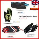 Cycling Bicycle Motorcycle Gloves Bike Full Finger Touch screen fabric Sports UK