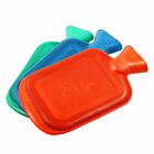 Hot Water Bottle Rubber Bag Warm Relaxing Heat Cold Therapy