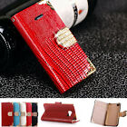 Bling Diamond Leather Case Flip Wallet Cover For Apple iPhone 6 Plus 6S Plus 5.5