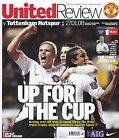 MANCHESTER UNITED HOME PROGRAMMES 2007~08 ~ YOU CHOOSE OPPONENTS FREE POST