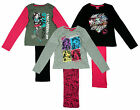 Girls Monster High Ghoul Friends Think Wild Clawdeen Long Pyjamas 8 to 14 Years