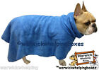 Trixie Dog Bath Robe Towel Blue ideal bathing dry dog after walking