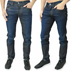 Mens Designer Voi Jeans HJ 2015 Activeflex Stretch Slim Fit Dark Wash Blue Denim