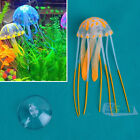 Fish Tank Decoration Glowing Effect Aquarium Artificial Jellyfish Ornament 4Size
