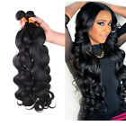 "14""-26"" Brazilian Virgin Body Wave Human hair Extensions Unprocessed UK Seller"