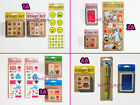 dci Gift Assorted Wood Mounted Rubber Stamps Stickers You Choose Designs ALL NEW