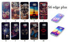 Soft TPU Patterns Rubber Gel Back Case Cover For Samsung Galaxy S6 edge plus NEW