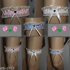 Sexy Lace Studded Bow Garters - Wedding Bridal Party,Personal,Dress-ups