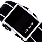 New Fashion Time Date Waterproof Men Women Sports Digital LED Wrist Watch
