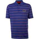 Antigua Men's Florida Gators Delluxe Short Sleeve Polo
