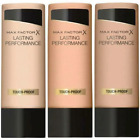 Max Factor - Lasting Performance Foundation - CHOOSE COLOUR - Brand New Stock