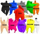 Inflatable Blow Up Color Adult Chub Suit Full Body Costume one size