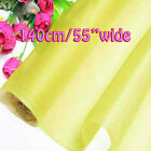 Aurora Sample/Half/Yard Pure Silk Organza Bridal Dress Fabric 140cm W