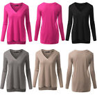 Ladies Winter Warm Tops Fleece Sweater Coats Hoodie Jumper Long Sleeve Pullover