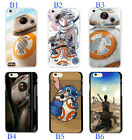 Star Wars The Force Awakens BB8 Droid Back Cover Case For iphone SE 7 6S Plus 5S $7.86 CAD
