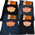 Levis 501 Ct Mens Button Fly Jeans Customized And Tapered Leg Original Fit