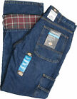 Dickies DU227SNB Flannel Lined Carpenter Stone Wash Relaxed Fit Jeans W30 to W44