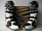 NEW AXO MOTOCROSS ENDURO TRAIL BOOTS WHITE RMZ KDX KXF YZF XR DR EXC SXF EC BETA