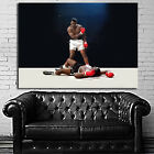 Muhammad Ali Boxer Champ Boxing Figher Poster Wall Mural on Canvas