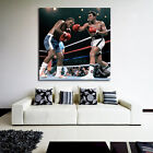 Muhammad Ali vs Joe Frazier Boxing Fighter Poster Wall Mural on Thick 8mil Paper