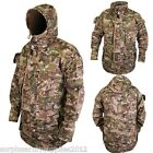 TACTICAL JACKET RIPSTOP ARMY SAS STYLE COMBAT SMOCK 10 POCKETS HUNTING BTP CAMO