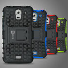 For Huawei Y3 Case Hard Protective Kickstand Hybrid Dual Layer Phone Cover