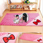 Pink Bow Hello Kitty Non-slip Kids Room Bedroom Area Rug Mat Carpet, 4 sizes