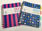 A5 Note Book Spiral Edge 200 Pages PVC Cover 80gsm 4 Subject Project Book
