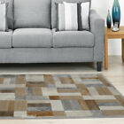 Modern MultiColor Gray Blocks Area Rug Modern Rugs Patchwork Contemporary Carpet