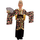 ASIAN GEISHA GIRL JAPANESE #ORIENTAL DRESS OUTFIT FANCY DRESS CHILD AGES 4-14