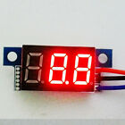 "3 digit 0.36"" 3-line DC 0-30V Red LED Digital Voltmeter display panel meter EW"