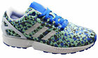 Adidas Originals ZX Flux Weave Mens Trainers Running Shoes White B34474 U100