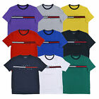 Tommy Hilfiger Mens T-Shirt Big Logo Short Sleeve Crew Neck Graphic Tee Flag New