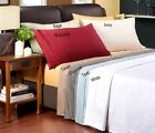 Luxury Egyptian Cotton 1200 Thread Count Solid Sheet Sets