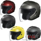 Shoei J-Cruise Open Face Motorcycle Helmet Solids