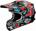 Shoei VFX-W Barcia Moto Off Road Helmet CLOSEOUT