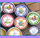 24 EASTER MIXED DESIGN CUPCAKE TOPPER RICE, WAFER or ICING