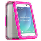 Waterproof Silicone Phone Case Cover for Samsung Galaxy S7 Diving Skiing Hiking