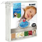 Bambi Protectiva Cotton Bamboo Waterproof Fitted Mattress Protector Bed Bedding