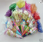 25 Party Bags Clear cone Coloured bags cello cellophane sweet candy display kids