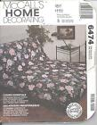 McCall's 6474 Cover Essentials  Home Decor Pattern