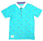 Boys Chainstore Flamingo Print Dude Polo Collared T-Shirt Top 3 to 13 Years