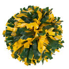 "00030BA One (1) Cheerleading Pom Poms, 6"" 2-Color Mix Plastic"