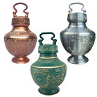 Elegance Series Copper Pet Memorial Cremation Handled Urn Small to Large Dog Cat