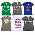 Victoria's Secret Mlb Baseball T Shirt Limited Edition Graphic Tee New Vs Nwt