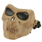 Skull Skeleton Full Face Mask Army Tactical Paintball War Airsoft Protect Safety